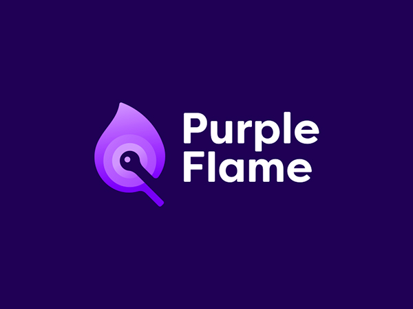 Purple Color Trend in Logo Design - 25 Examples - 2