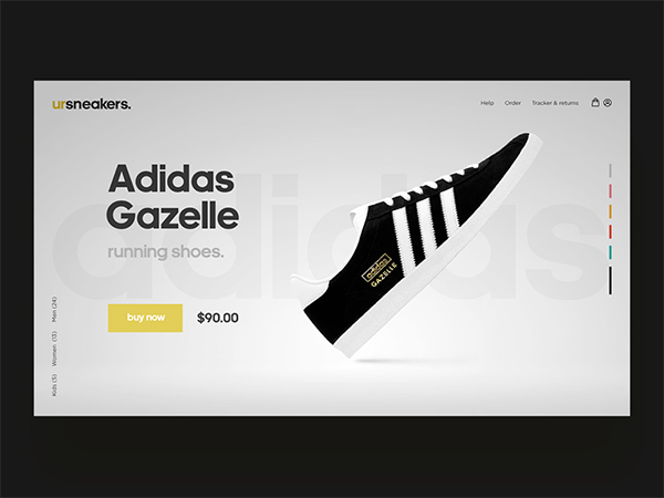50 Modern Web UI Design Concepts with Amazing UX - 21