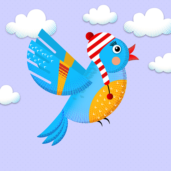 Learn How to Create a Colorful Bird in Illustrator Tutorial