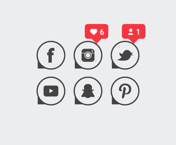 How to Make Social Media Icons in Vector