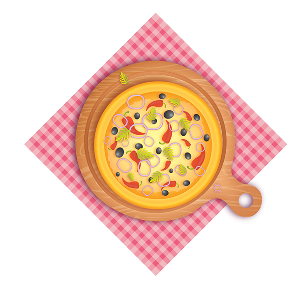How to Create a Delicious Pizza in Adobe Illustrator