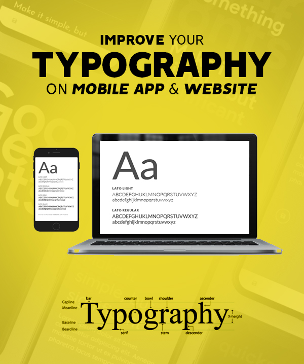 Improve Your Typography On Mobile App And Website