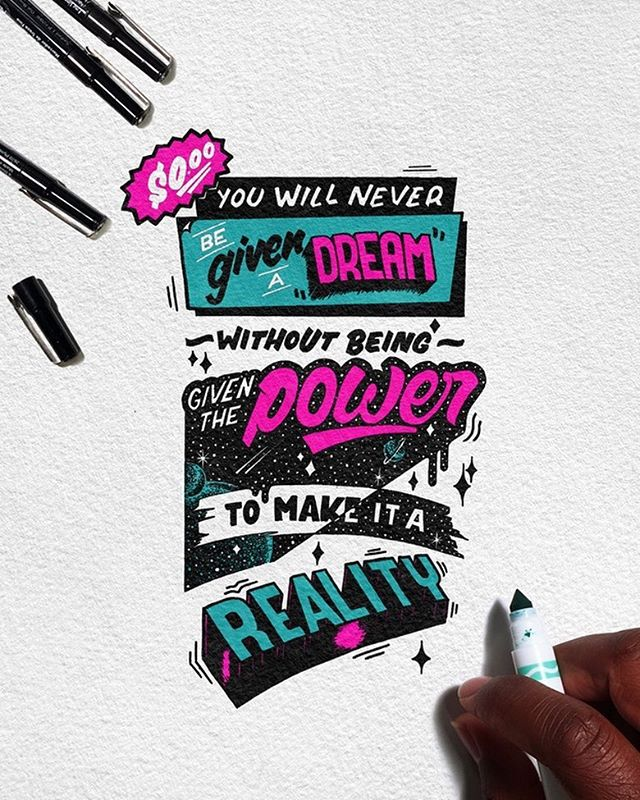 Handmade Lettering and Typography Designs - 14
