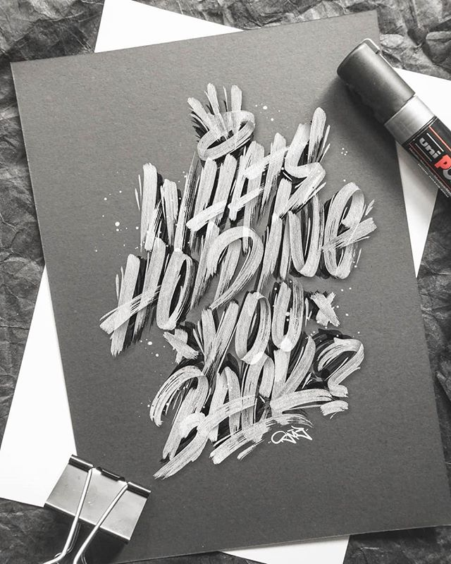 Handmade Lettering and Typography Designs - 22