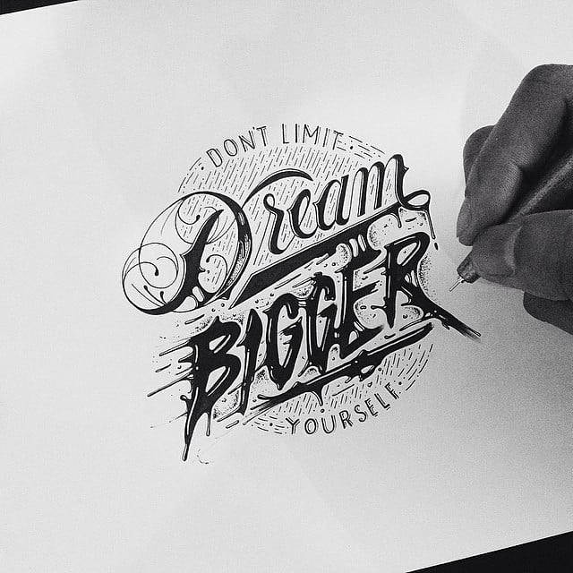 Handmade Lettering and Typography Designs - 27
