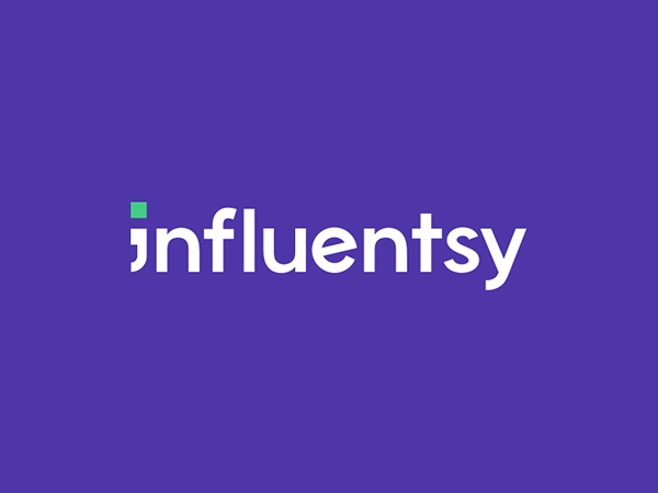 Influentsy Logo by weRock Studio