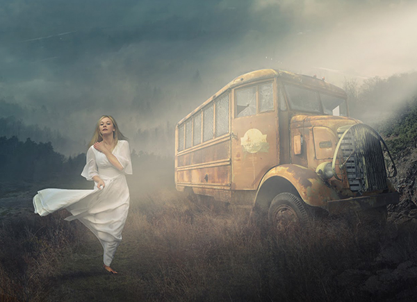 How to Create Light Wind Photoshop Manipulation in Photoshop