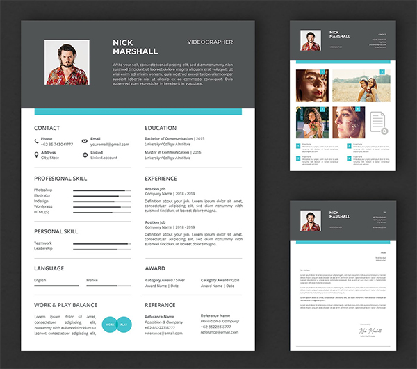 Creative Professional CV And Resume Template