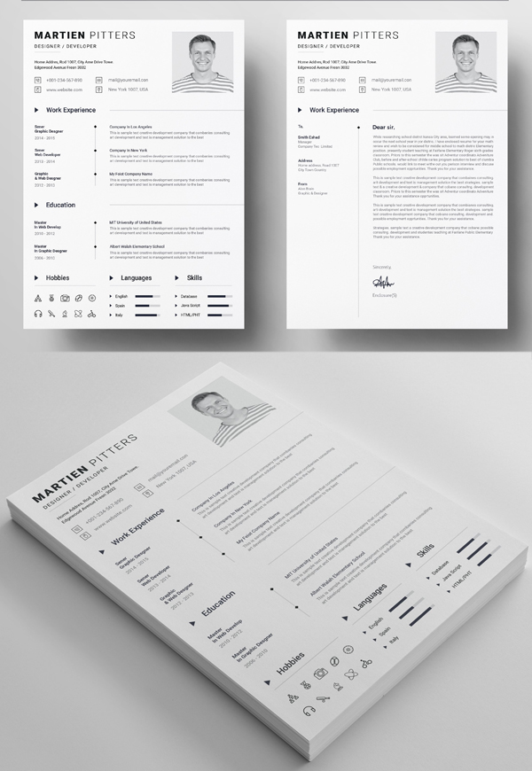Awesome Clean Resume Template