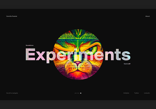 35 Modern Web UI Design Examples with Amazing UX - 1