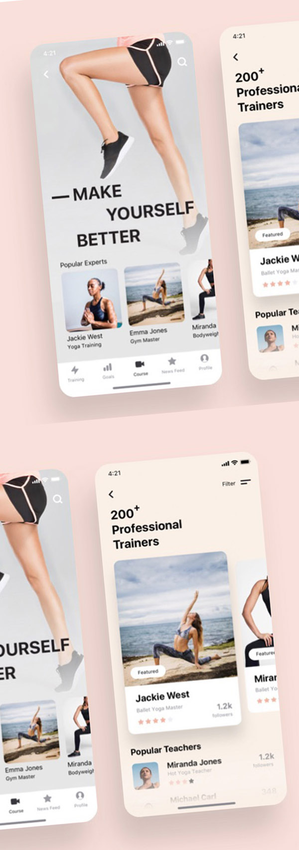 Modern Mobile App UI Design with Amazing UX - 17