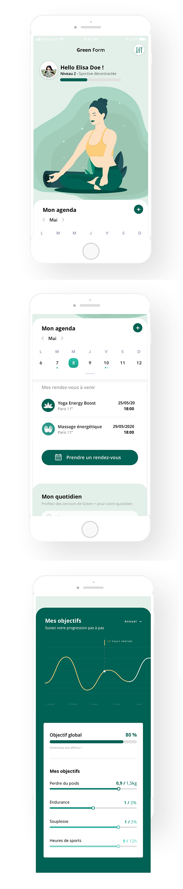 Modern Mobile App UI Design with Amazing UX - 23