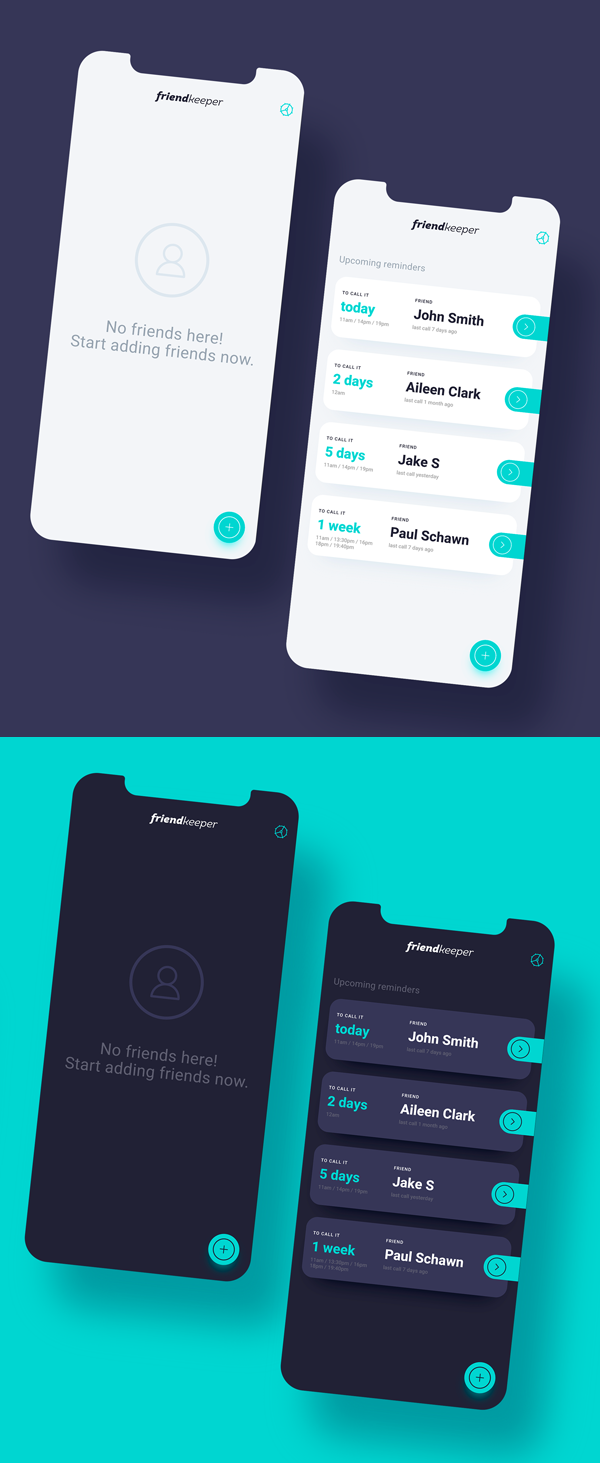 Modern Mobile App UI Design with Amazing UX - 25