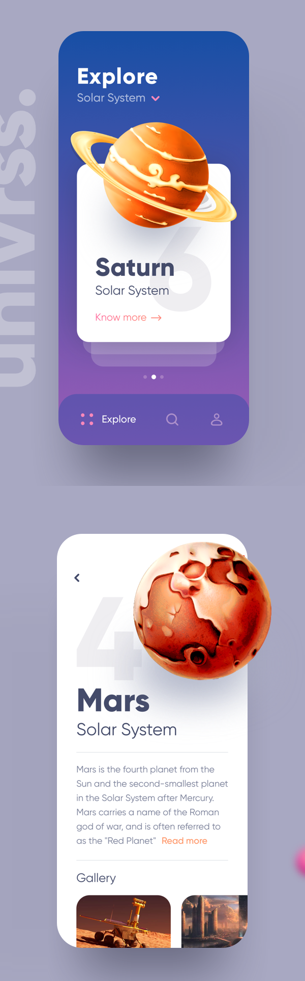 Modern Mobile App UI Design with Amazing UX - 3
