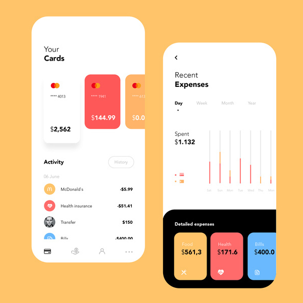 Modern Mobile App UI Design with Amazing UX - 6
