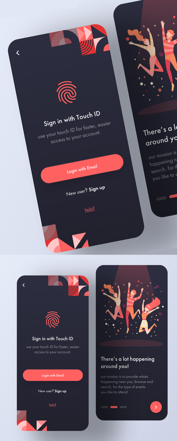 Modern Mobile App UI Design with Amazing UX - 9