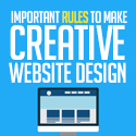 Post thumbnail of 10 Important Rules to Make Creative Website Design