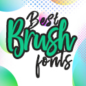 Post Thumbnail of 60 Best Brush Fonts For Graphic Designers