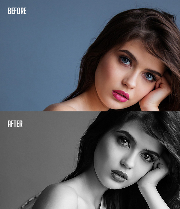 How to Professionally Convert Images to Black and White in Photoshop Tutorial