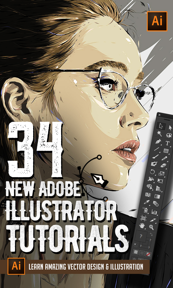 Illustrator Tutorials: 34 New Vector Tuts to Learn Drawing and Illustration