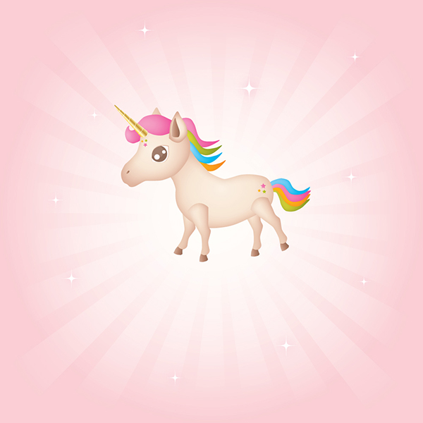 How to Draw a Unicorn Illustration in Illustrator