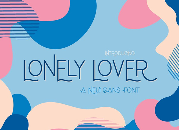 Lonely Lover Free Font