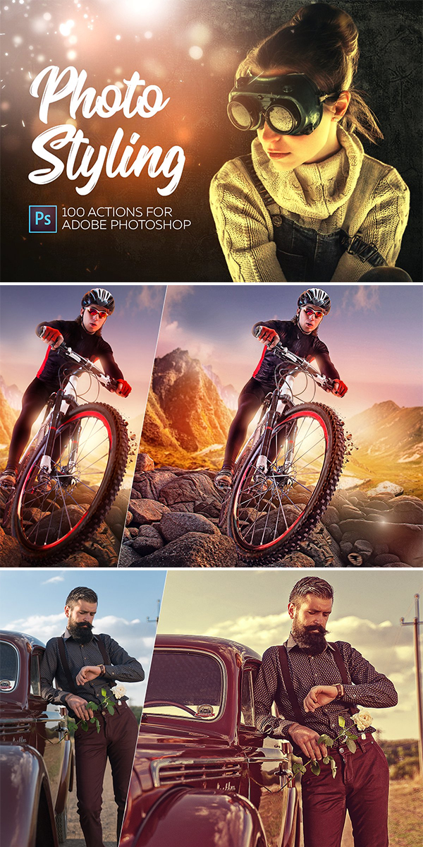 Photo Styling - Photoshop Actions