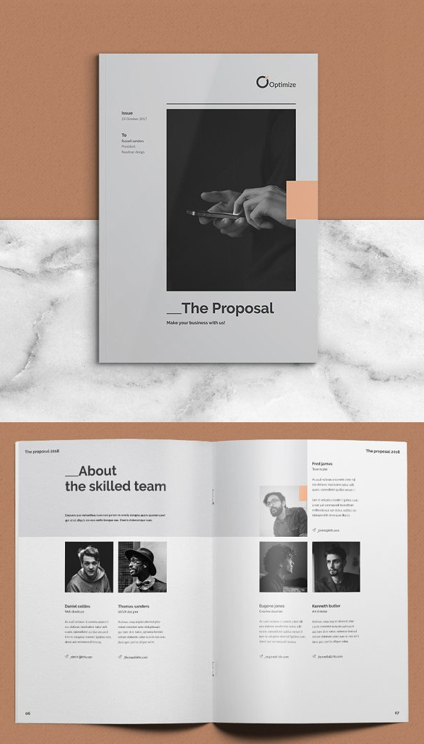 Creative Proposal Brochure