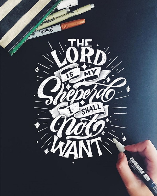 45 Remarkable Lettering and Typography Designs for Inspiration - 6
