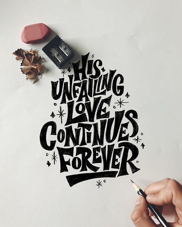 45 Remarkable Lettering and Typography Designs for Inspiration - 8