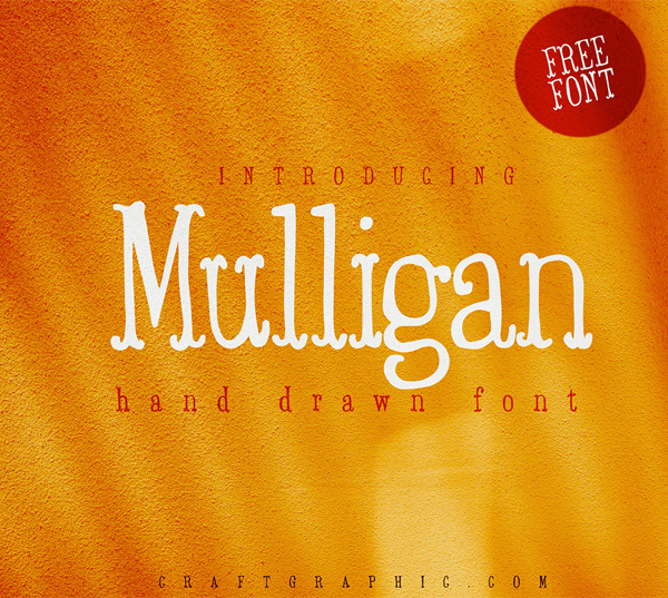 Mulligan Hand Drawn Free Font