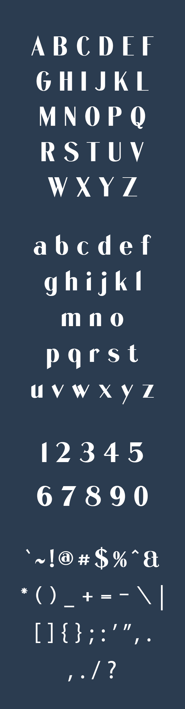 Quentell Free Font Letters