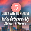 Post Thumbnail of 5 Quick Ways to Remove Watermark from Photos