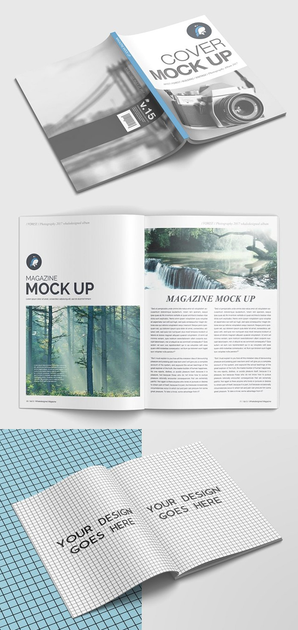 Awesome Magazine Mockup