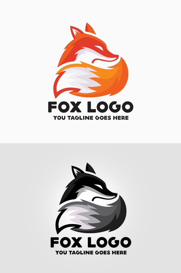 Fox Logo PSD - 7