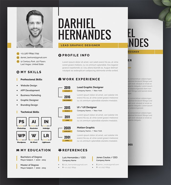 Awesome Perfect Resume Template