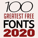 Post Thumbnail of 100 Greatest Free Fonts for 2020