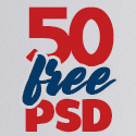 Post Thumbnail of 50 Useful Free PSD Files For 2020