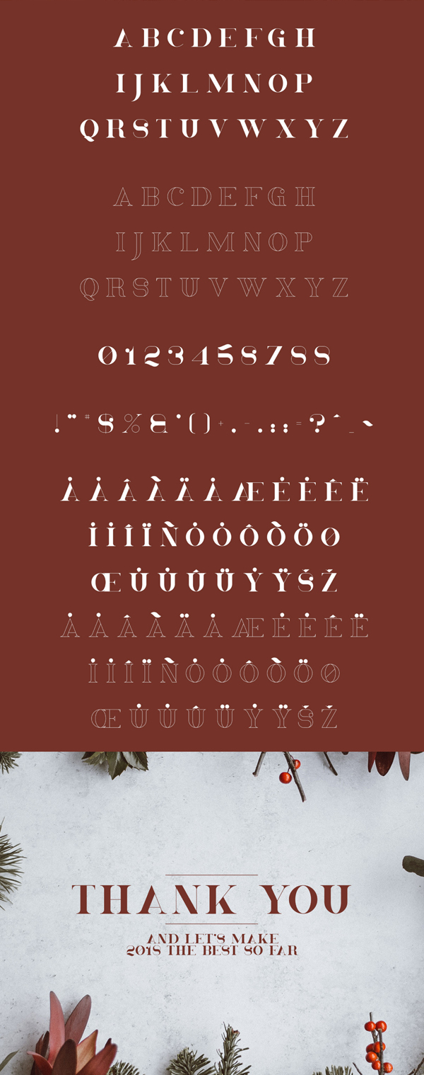 Christmas Free Font Letters
