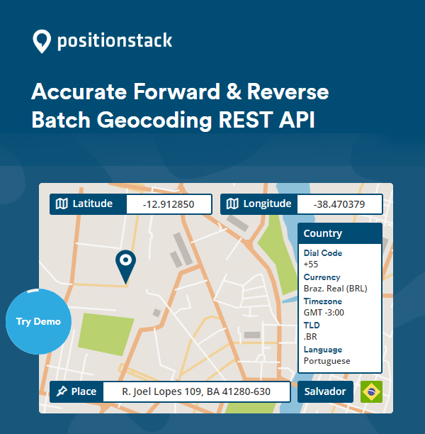 All about position stack API