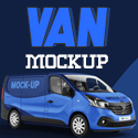 Post Thumbnail of 20 Professional Van Branding Mockups
