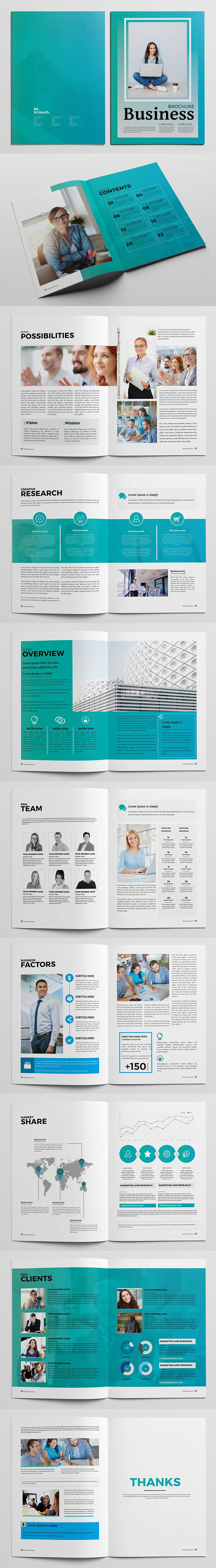 Business Elegant Brochure Template