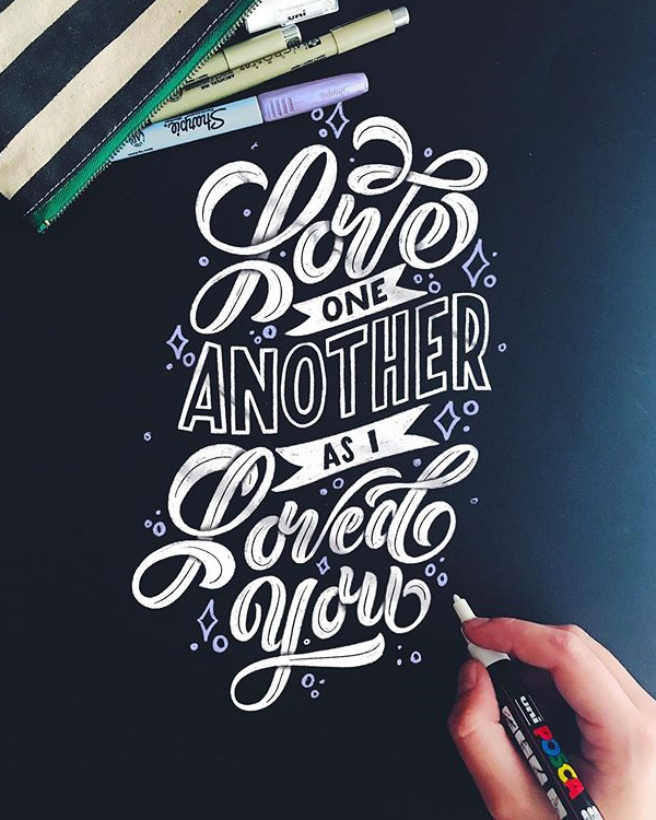 Remarkable Lettering and Typography Designs for Inspiration - 1
