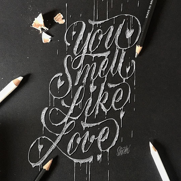 Remarkable Lettering and Typography Designs for Inspiration - 33