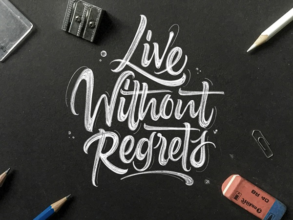 Remarkable Lettering and Typography Designs for Inspiration - 41