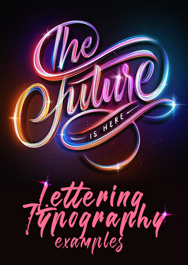 46 Remarkable Hand-Lettering and Typography Designs for Inspiration