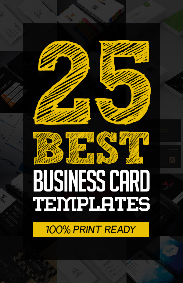 Best Business Cards Print Ready Templates