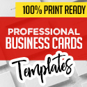 Post Thumbnail of New Professional Business Cards - 25 Print Ready Templates