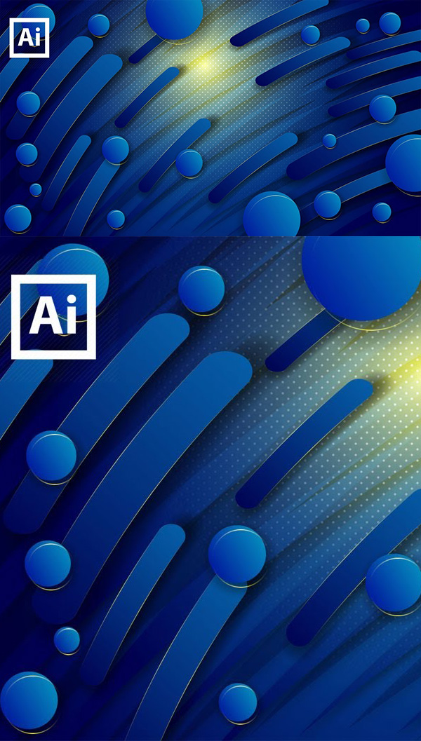 How to Create 3D Abstract Backgrounds in Adobe Illustrato