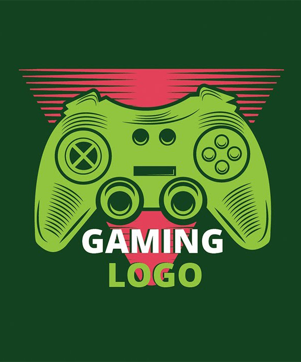 How to Create Gaming LOGO in Illustrator Tutorial
